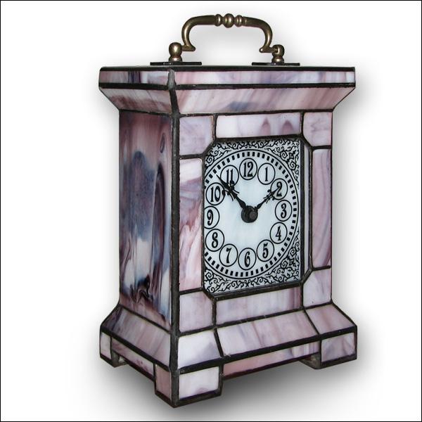 Stained Gl Clic Clock Tiffany Technique